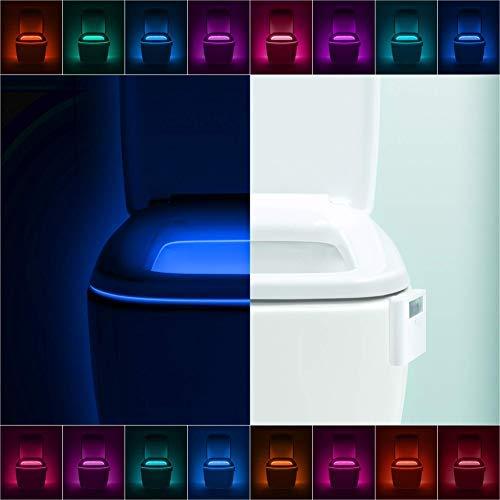 LumiLux Advanced 16-Color Motion Sensor LED Toilet Bowl Light 1