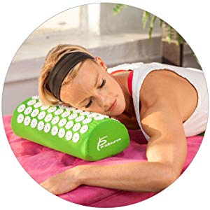 image may contain a person resting head on a pillow