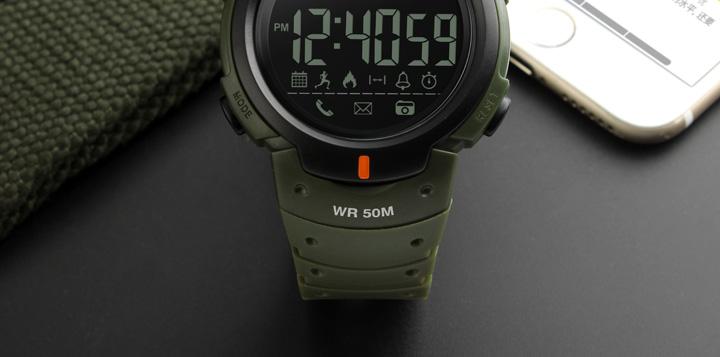 Men's Sport Smart Watch SKMEI Brand Fashion Pedometer Remote Camera Calorie Bluetooth Smartwatch Reminder Digital Wristwatches 2